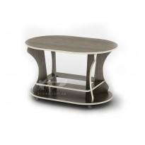 Журнальний столик Геліос СЖ Тиса меблі (овальний на коліщатках)