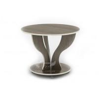 Журнальний столик Ореол СЖ Тиса меблі (круглий на коліщатках)