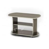 Журнальний столик Парус СЖ Тиса меблі (з Поличка на коліщатках)
