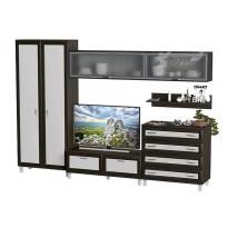 Гостиная - 004 Тиса мебель (стенка для гостиной)