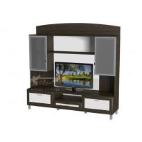 Гостиная - 042 Тиса мебель (прямая стенка для гостиной)