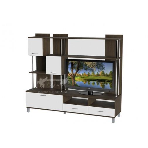 Гостиная - 049 Тиса мебель (с открытыми полками)