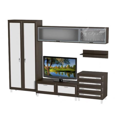 Вітальня - 004 Тиса меблі (стінка для Вітальні)