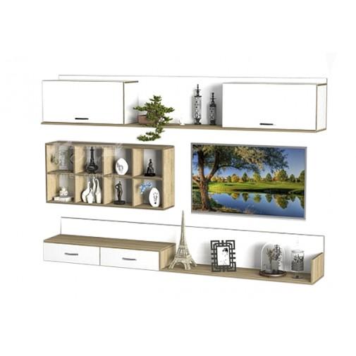 Гостиная - 206 Тиса мебель (прямая, навесная)