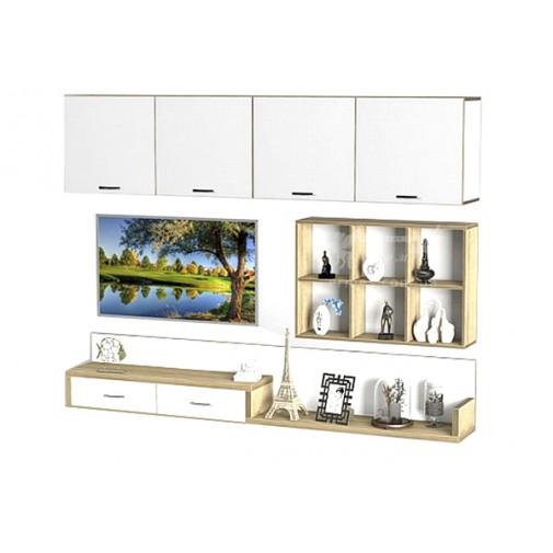 Вітальня - 218 Тиса меблі (навісна стінка для Вітальні)