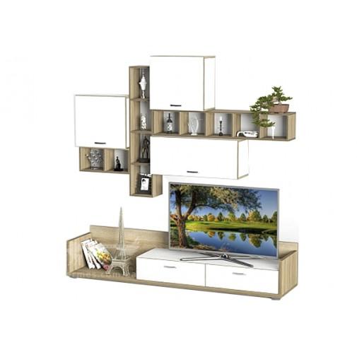 Гостиная - 222 Тиса мебель (настенная прямая)