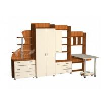 Детская  Престиж Д-17(2)  Тиса мебель (с рабочим местом)