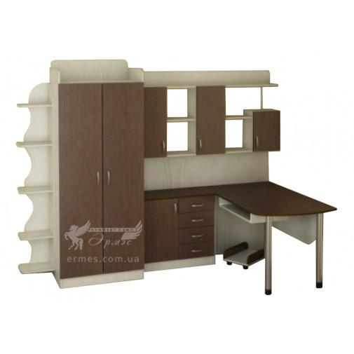 """Детская Престиж """"Д-15"""" Тиса мебель (со шкафом и столом)"""