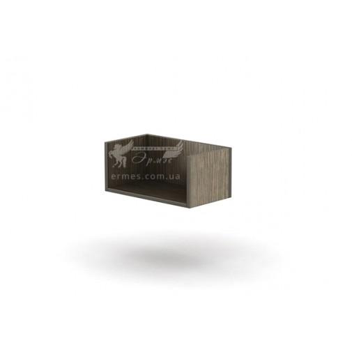 Полка ПН - 20 Тиса мебель (открытая, книжная)