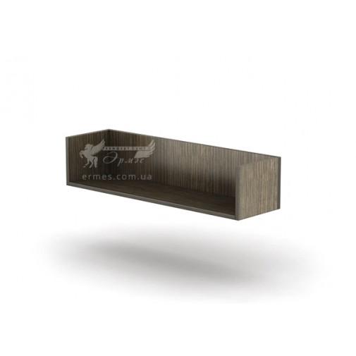 Полка ПН - 24 Тиса мебель (открытая, книжная)