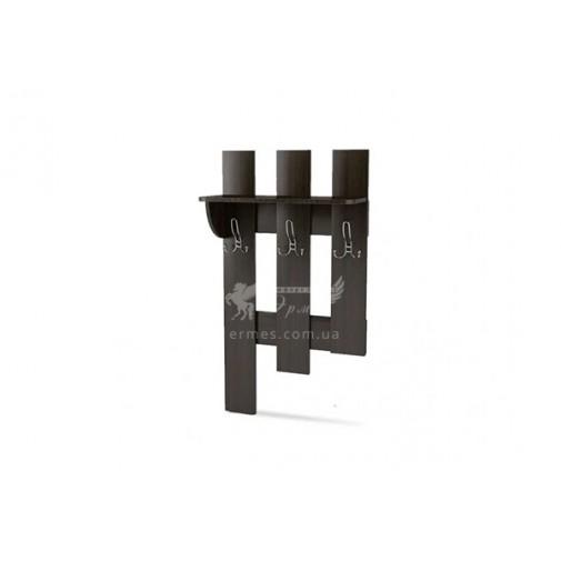 Вешалка-2 Тиса мебель (небольшая, на три крючка)