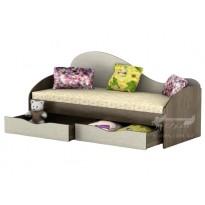 """Кровать """"Идеал"""" Тиса мебель (с выдвижными ящиками)"""