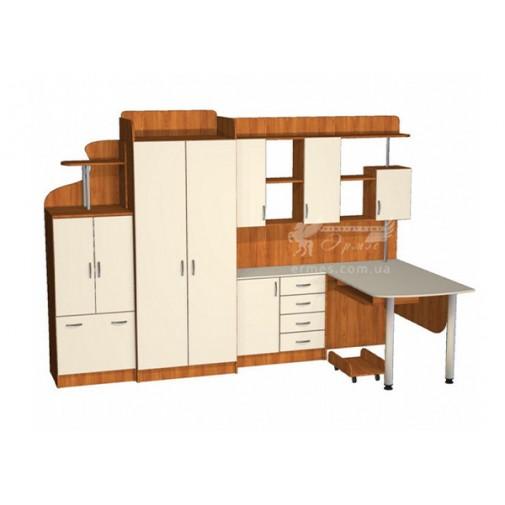 Детская Престиж Д-15(1)  Тиса мебель (со спальным местом)