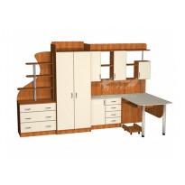 Дитяча Престиж Д-15 (2) Тиса меблі (з робочим місцем)