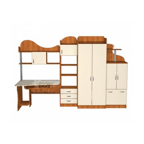 Детская Престиж Д-16(1)  Тиса мебель (со шкафом и ящиками)