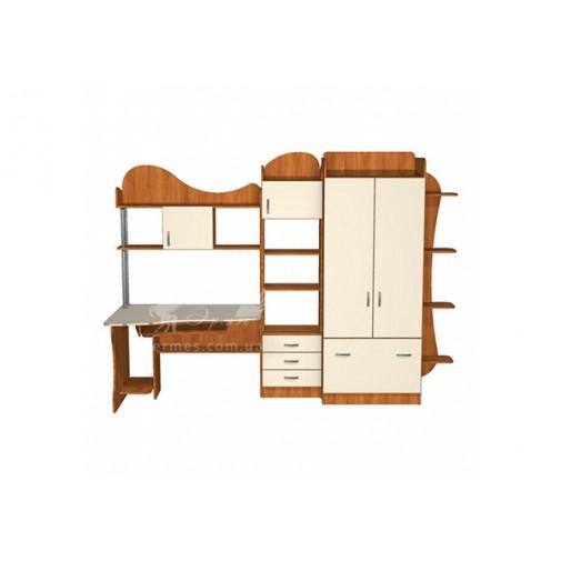 Дитяча Престиж Д-16 (4) Тиса меблі (з шафою и ящиками)