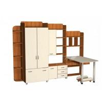 Дитяча Престиж Д-17 (4) Тиса меблі (з ящиками и шафамі)