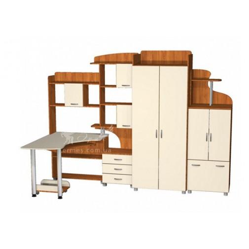 Дитяча Престиж Д-18 (1) Тиса меблі (з робочим місцем для школяра)