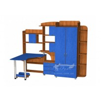 Детская Престиж Д-18(4)  Тиса мебель (функциональная мебель для подростка)
