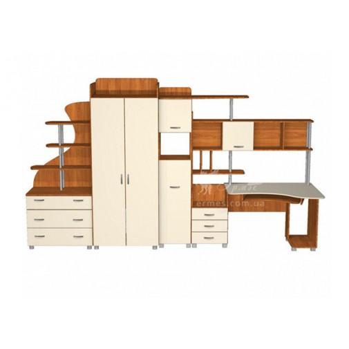 Детская Престиж Д-20(2)  Тиса мебель (с письменным столом)
