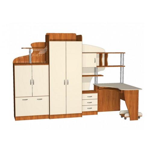 Детская Престиж Д-22(1)  Тиса мебель (с рабочим местом)