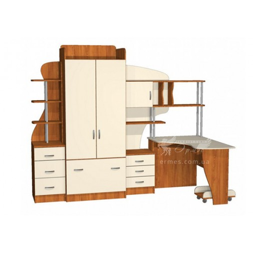 Дитяча Престиж Д-22 (3) Тиса меблі (комплект меблів для підлітка)
