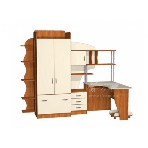 Детская Престиж Д-22(4)  Тиса мебель (с рабочим местом)