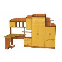 Дитяча Престиж Д-25 (1) Тиса меблі (з гардеробом)