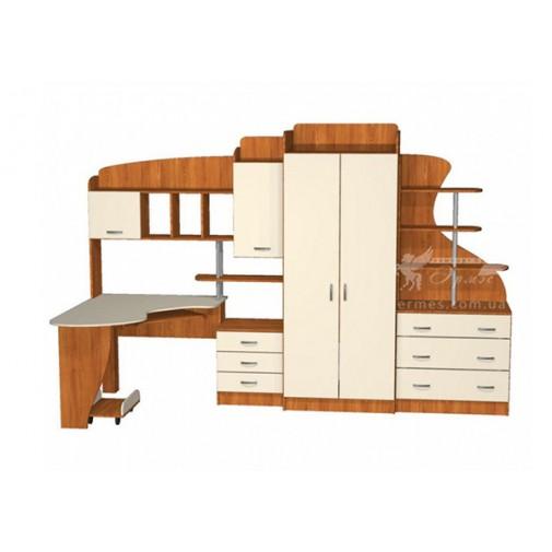 Дитяча Престиж Д-25 (2) Тиса меблі (з шафамі и ящиками)