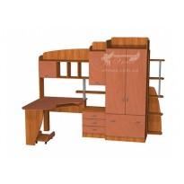 Дитяча Престиж Д-25 (4) Тиса меблі (з шафамі и ящиками)