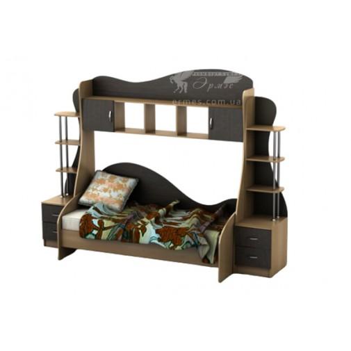 Дитяча Престиж Д-2 Тиса меблі (ліжко з надбудовою)