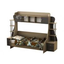 Дитяча Престиж Д-3 Тиса меблі (ліжко з надбудовою)