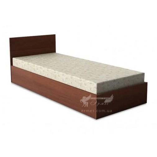Кровать односпальная Кр-106 Тиса мебель (с невысоким подголовьем)