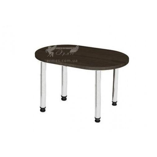 Стол кухонный Тиса мебель (на хромированных опорах)