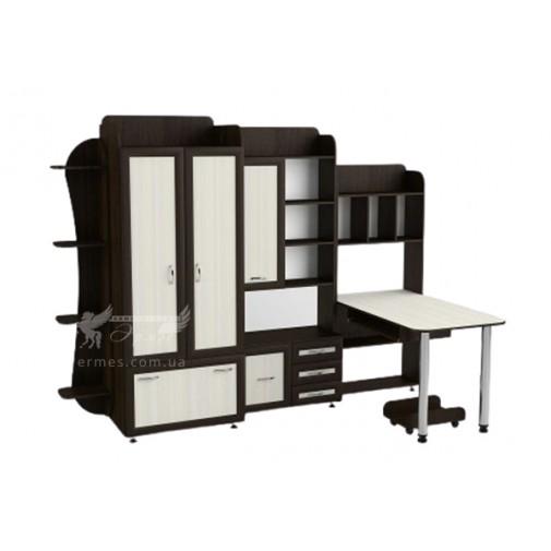 """Детская Престиж """"Д-217"""" Тиса мебель (со шкафом и столом)"""