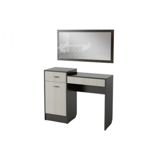 Будуарний столик БС-02 Тиса меблі (з дзеркалом)