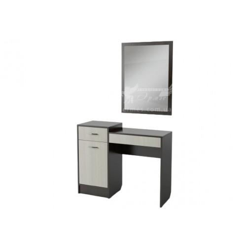 Будуарний столик БС-01 Тиса меблі (з тумбою)