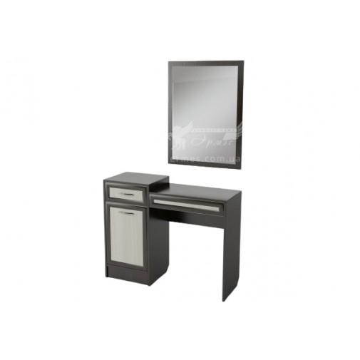 Будуарний столик БС-04 Тиса меблі (з тумбою и дзеркалом)
