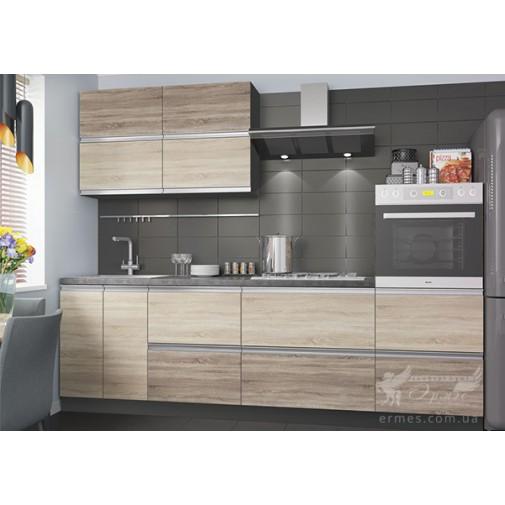 """Кухня """"Альбина"""" комплект №3 Vip-master (прямая с ДСП фасадами)"""