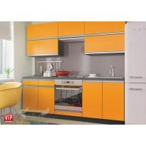 """Кухня """"Альбина"""" комплект №2 Vip-master (прямая с гладкими фасадами)"""