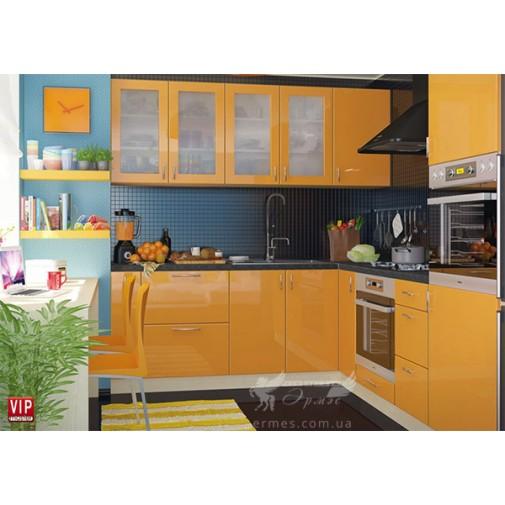 """Кухня """"Color-mix"""" комплект №2 Vip-master (кутова з гладкими фасадами)"""