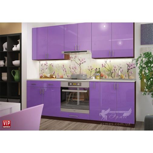 "Кухня ""Color-mix"" комплект №4 Vip-master (пряма, з глянцевими фасадами)"