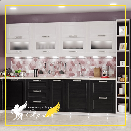 Эрмэс: Мебель в кухню на заказ. Выбираем фасад