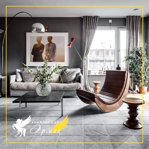 Как сделать маленькую гостиную стильной?