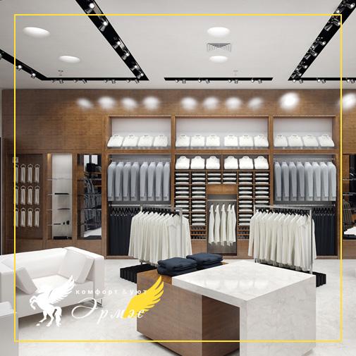 Эрмэс: Мебель для торгового зала на заказ