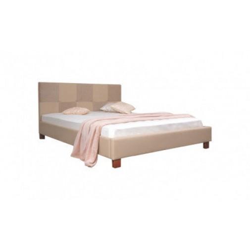 """Кровать """"Николь"""" Melbi (мягкая, на ножках)"""