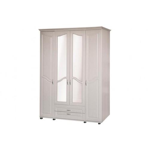 """Шкаф для одежды четырехдверный """"Ангелина"""" Ш-4 Пехотин"""