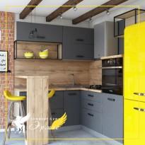 Правила гармонии кухонной мебели