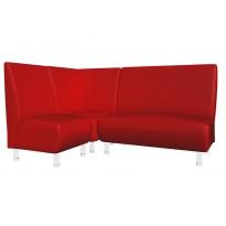 """Угловой диван """"Актив"""" Sentenzo (для офиса и зон ожидания)"""