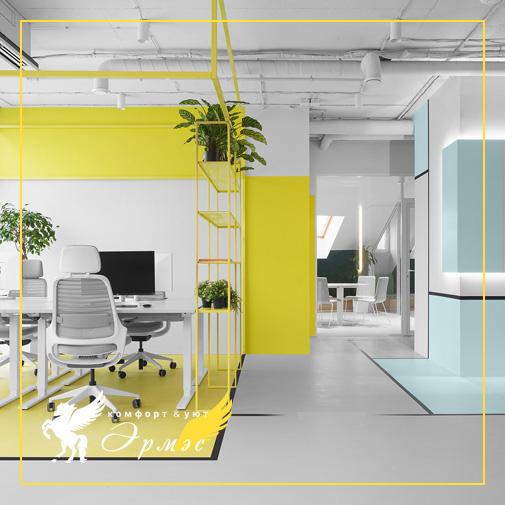 Тенденции дизайна интерьера офиса в 2021 году